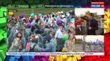 Новости на Россия 24 В Мосве стартовал парад-карнавал Фестиваля молодежи