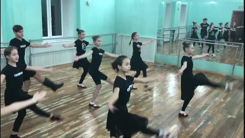 Народный танец. Шумкина Ирина Владимировна, шоу балет Эклипс