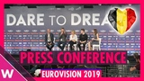 Belgium Press Conference Eliot