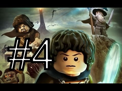 [PS3]LEGO The Lord of the Rings. Прохождение 4 «Карадрас»