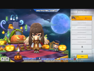 [ENG/ESP]Trying out Maple Story 2!!