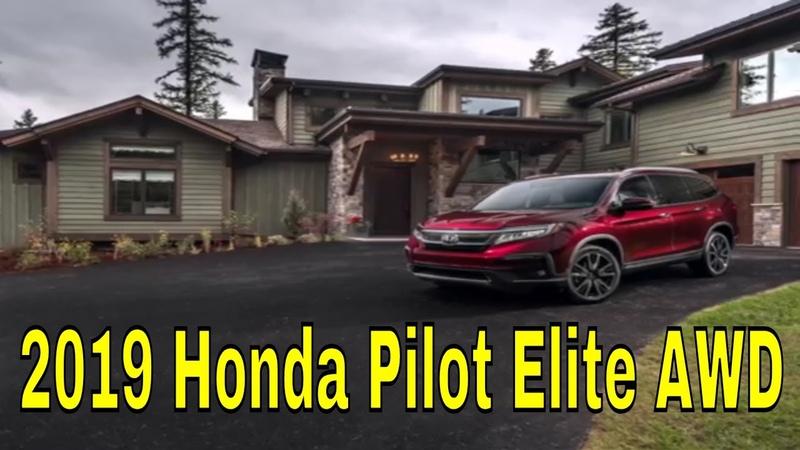 2019 Honda Pilot Elite AWD | Genel bakış iç dış tasarım tanıtımı