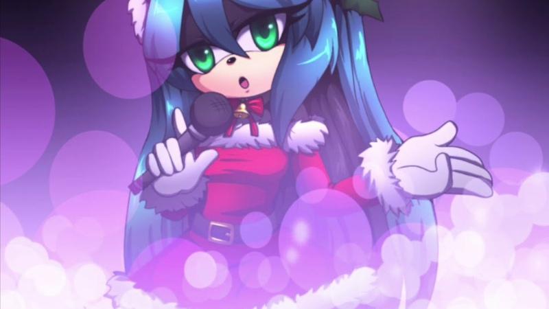 Mana The Hedgehog холодная как лёд