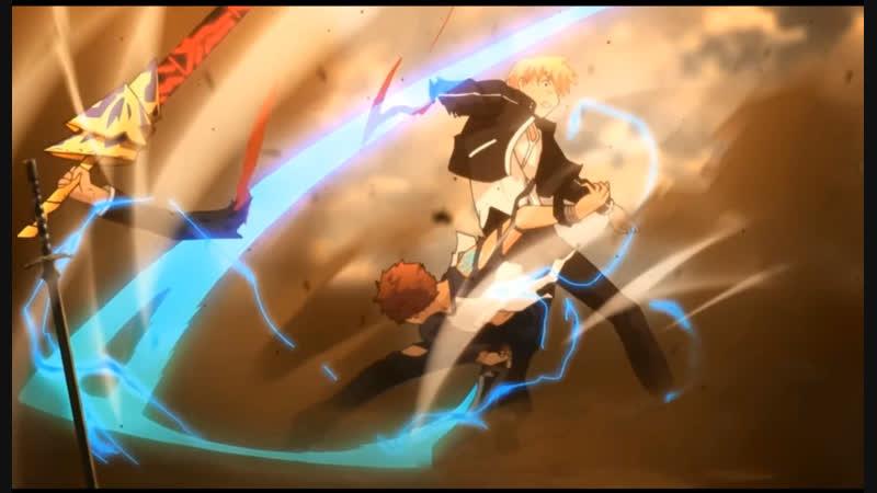 Fate Night Fights Судьба Ночь Схватки Широ Против Гильгамеша Две Разных Версии Битвы