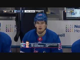 Pavel Buchnevich 7th goal / Бучневич 7-ая шайба