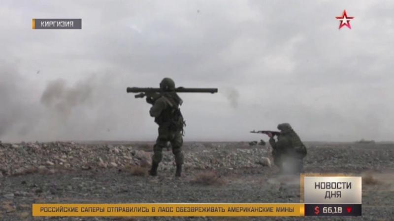 Уничтожение «террористов» — главная задача учений «Взаимодействие-2018»