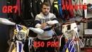 Обзор Сравнение эндуро мотоциклов GR7 250 pro vs Avantis 250 pro
