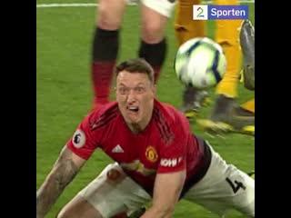 Ren fotballkunst fra phil jones