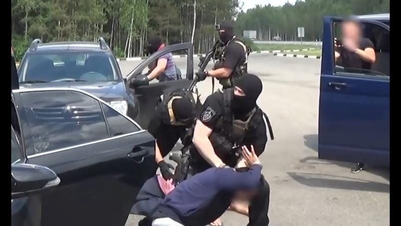 РАБОТАЕТ СПЕЦНАЗ задержание нелегалов оперативная съёмка