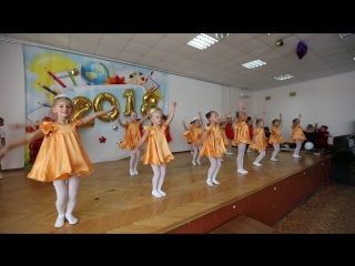 Выступление кружка хореографии Фейерверк на день учителя