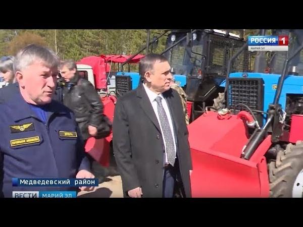 Автопарк «Авиалесоохраны» Марий Эл пополнен современной противопожарной техникой