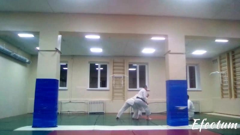 первые тренировки Такемусу айки в Нижнем Тагиле