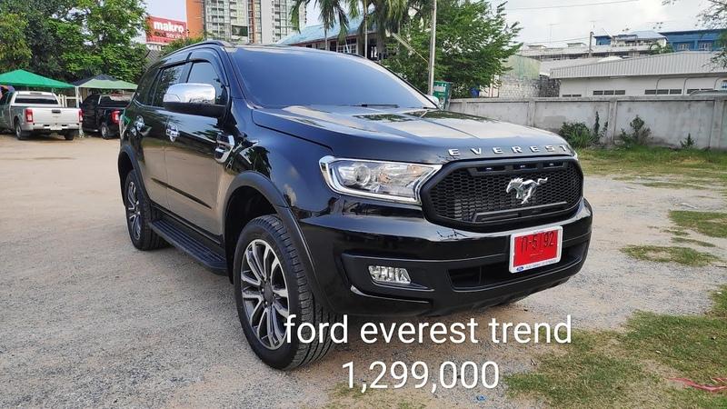 Ford everest trend 2.0 2019 สีดำep6 รีวิวเเต่งเป็นtitanium plus BY.เอกฟอร์ดโปรโมชั่น