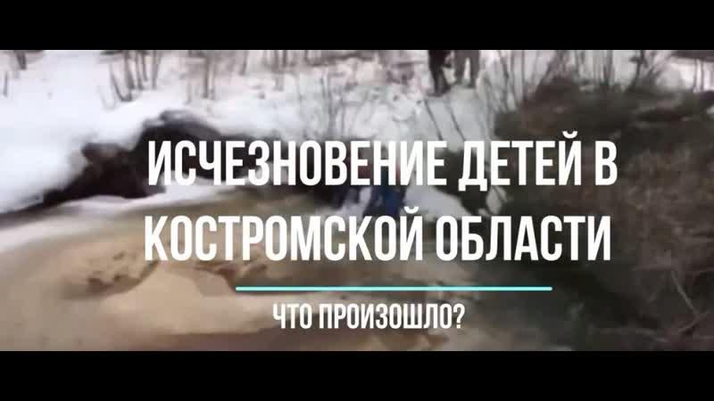 Исчезновение мальчиков в Костромской области что произошло