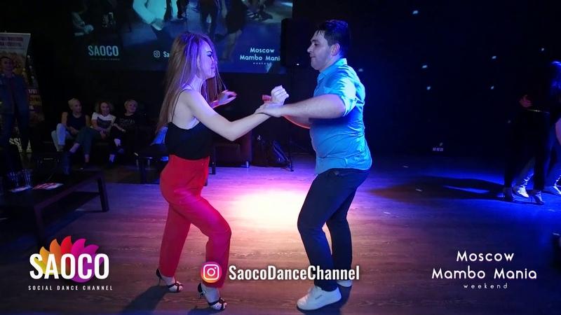Alexandr Maneev and Alita Bru Salsa Dancing at 2nd Moscow MamboMania weekend 2019 Friday 08 03 2019