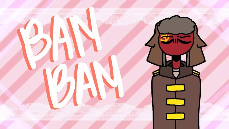 (flipaclip) BAM BAM meme | Countryhumans | ft. USSR and co.