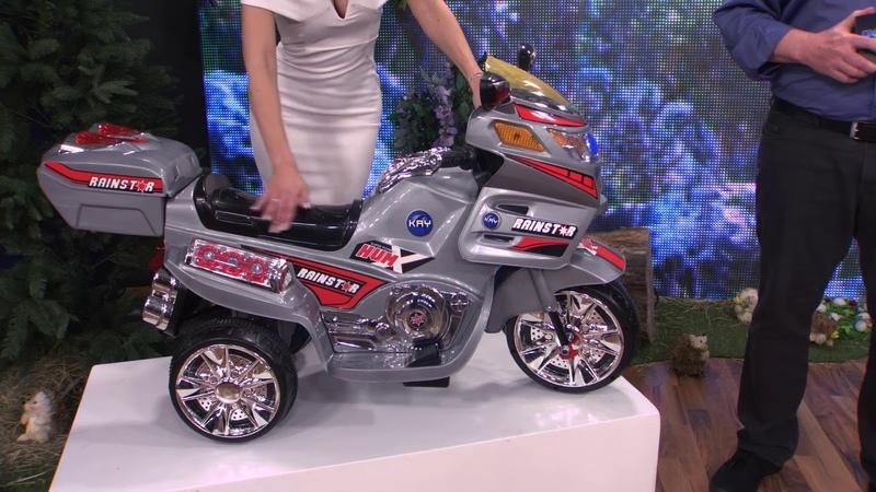 Playtastic Kindermotorrad mit Elektroantrieb inkl. Netzteil