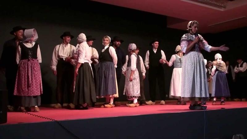 Les Chettas de Xertigny (88) interprétent lAlouette, danse folklorique traditionnelle