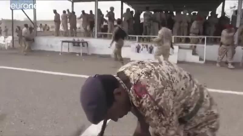 Беспилотник хуситов атакует оккупированную Эмиратами базу аль-Анад (10 января 2019)