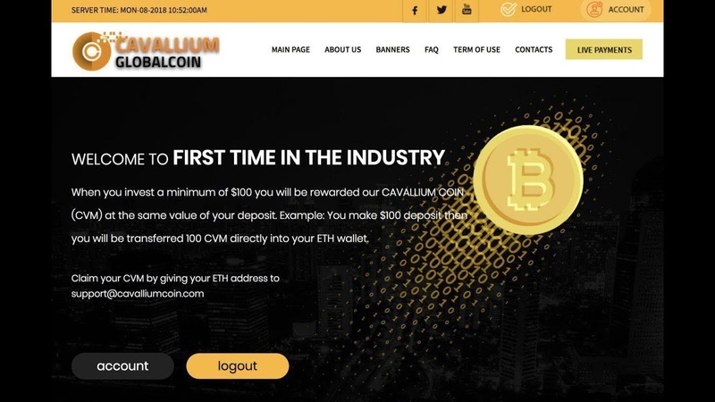 Cavallium Global - прибыль коины в подарок
