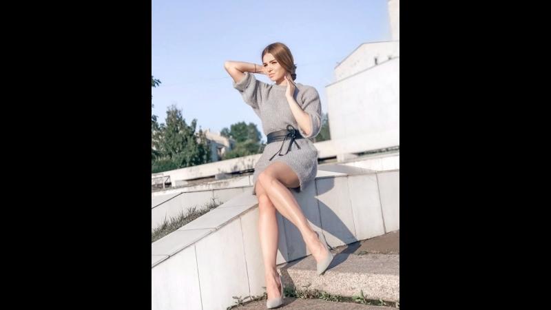 🍂 Тёплое платье отлично смотрится и с поясом и без него 🙂