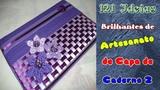 121 Ideias Brilhantes de Artesanato de Capa de Caderno 2 Criando Maravilhas