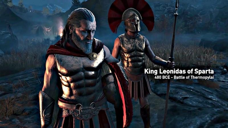 Assassins Creed Odyssey - Opening Cutscene Leonidas 300 Spartans (Assassins Creed 2018) 4K HD