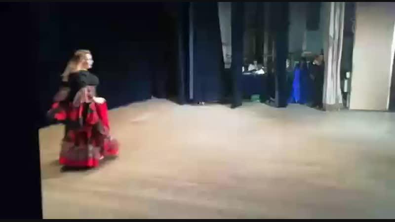 ШВТ ЗЕЙНАБ Oriental Fantasy Show 20.10.2018.Синьоры.Цыганский танец.Соло.Начинающие.Протасова Ольга.