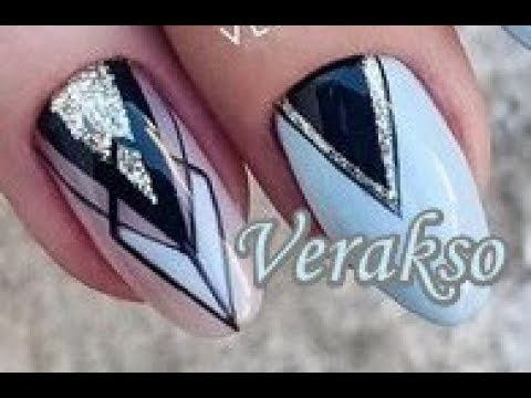 3 Easy Nail Art Tutorials Verakso 18 | BeautyIdeas Nail Art