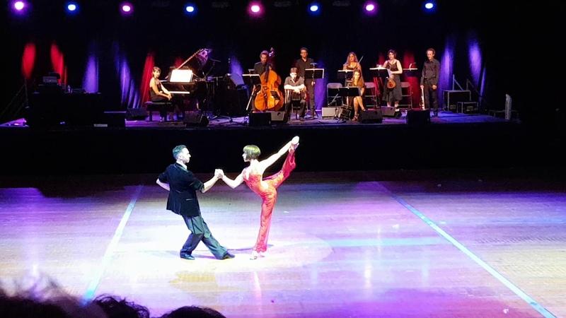Gustavo Rosas Gisela Natoli - Oblivion ❤ Spectacle - Siglos De Tango @ Tarbes en Tango 2018