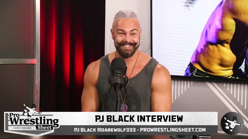 Interview with PJ Black on G1 Supercard ROH Re Learning to Walk and More!