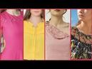 Top 50 Neck Designs For Kurti Kurta Frocks For Girls - Latest Fashion