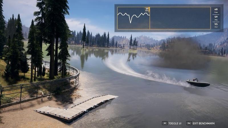 Far Cry 5 | Benchmark | FX 8350 GTX 1070
