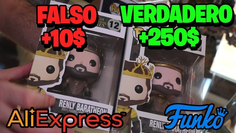 Funko POP ALIEXPRESS FALSO vs ORIGINAL - YouTube