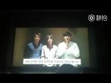 NEWS  was featured on a congratulatory video at Korea University