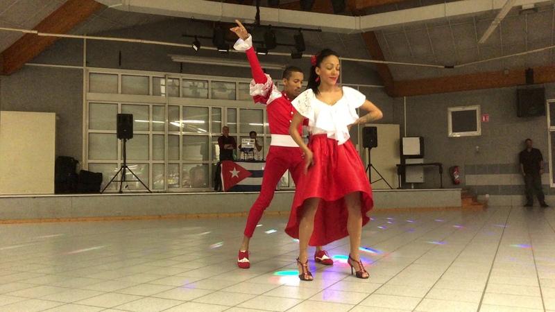 Swing'n'Salsa Léman 2018 - Salsa - Rafael Hernandez Nathalie Mila