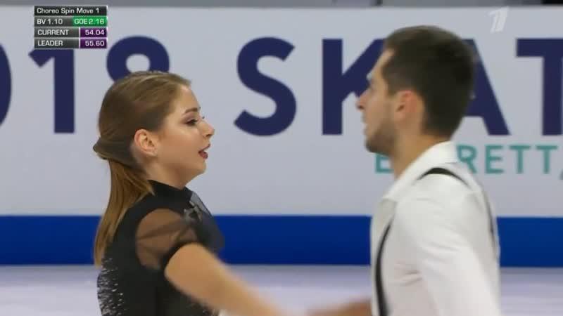 Skate America 2018. Ice Dance - FD.Alexandra NAZAROVA _⁄ Maxim NIKITIN