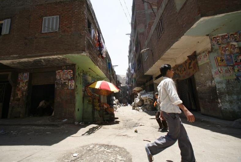 """улица в """"городе мусорщиков"""""""