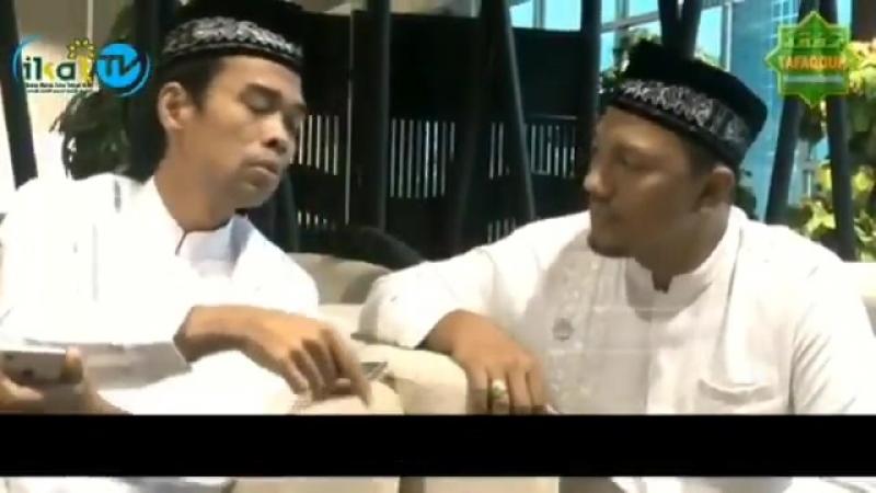 Gurunda Ustadz Abdul Somad mau jadi Juru Kampanye - - Jadi Wakil Presiden saja beliau tida.mp4