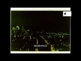New York Aerials, 1970s Manhattan at Night, 35mm