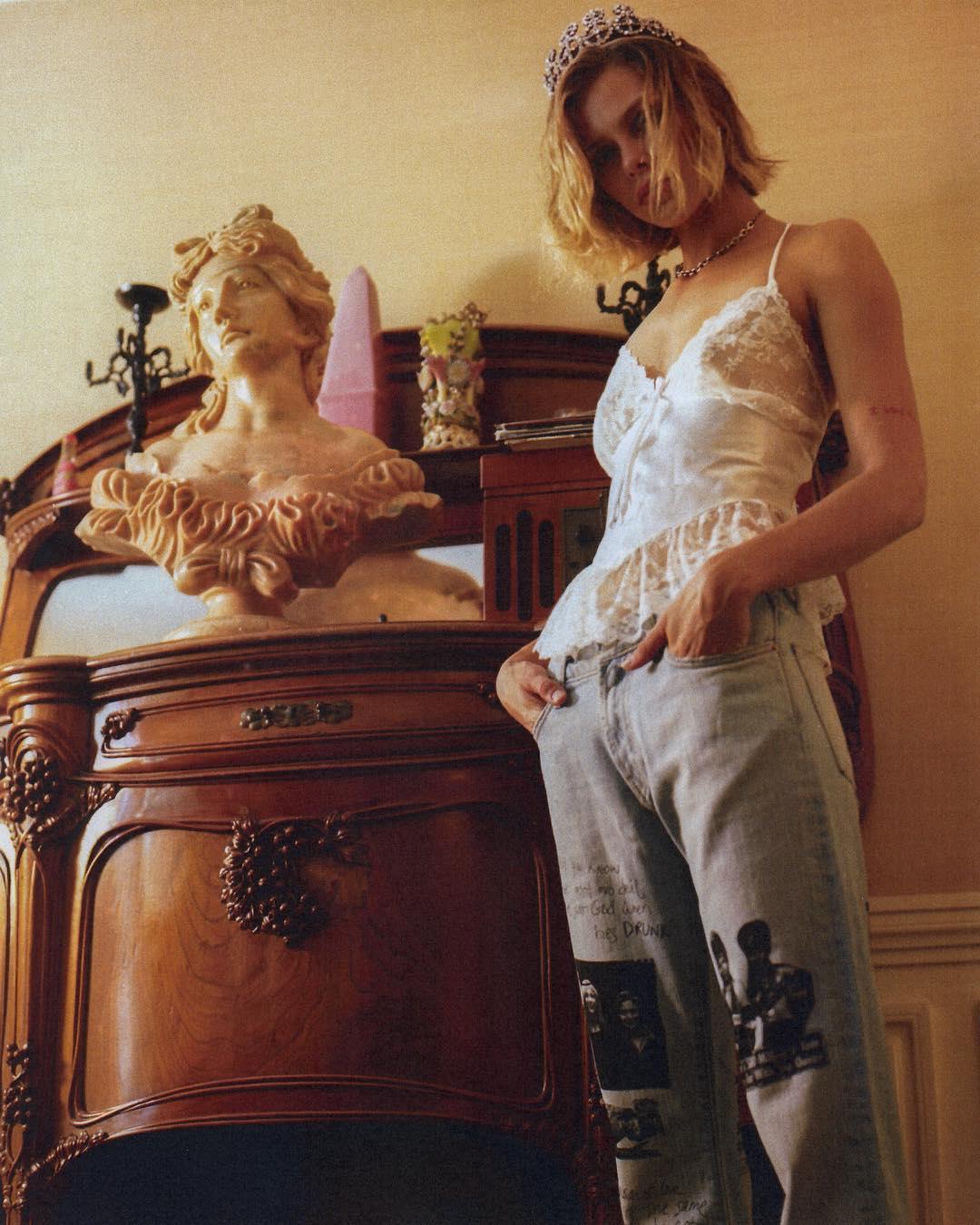 В стиле гранж: совместная коллекция одежды от Midnight Studios и Courtney Love