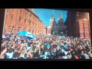 Argentinos en Copa Mundial Rusia 2018