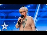 ROCK SHOCK! Get your air guitars out for Jenny Darren! Auditions BGT 2018