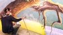 Роспись стен игровой комнаты «Джунгли»