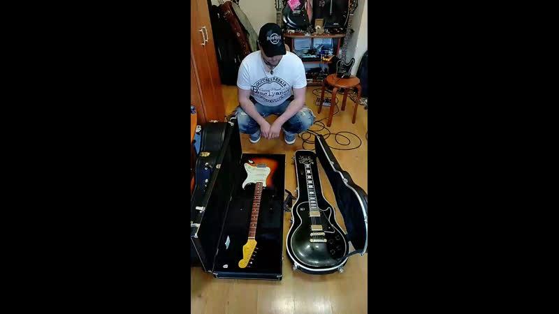 Отстройка гитары - НА КОЛЕНКЕ Stratocaster