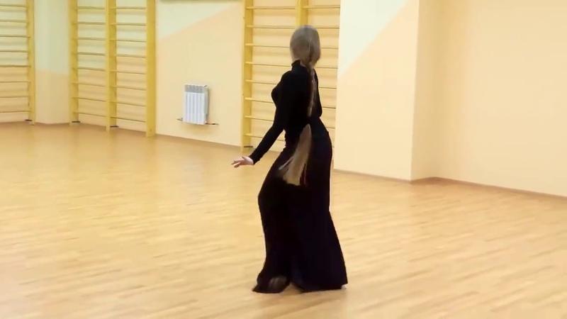 ქართული ცეკვა ლამაზი გოგოს შესრულებით Qartuli Cekva Lam