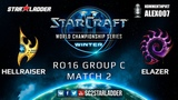 2019 WCS Winter EU - Ro16 Group C Match 2 HellraiseR (P) vs Elazer (Z)