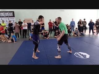 Региональный турнир Grappling Lion Fight г. Ижевск 17. 02. 2019. 18+ 80 кг. Рагим Халиков ( Ижевск ) - Сарапул