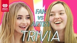 Sabrina Carpenter Challenges A Super Fan In A Trivia Battle Fan Vs. Artist Trivia