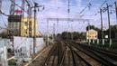 Рыбное Рязань 2 Пост 204 км из окна хвостового вагона поезда №104